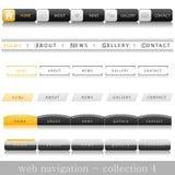 Web navigation Stock Image