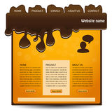 Web navigation template - EPS 10. Illustration - see also my portfolio Stock Images