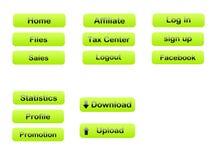 Web navigation templates 14 Stock Image