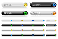 Web navigation templates 8 Royalty Free Stock Image