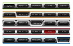 Web-Navigationsschablonen vektor abbildung