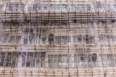 Web net pour la rénovation de construction Photographie stock