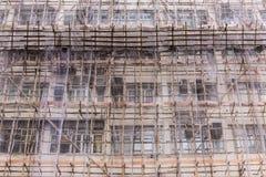 Web netto per rinnovamento di costruzione Fotografia Stock