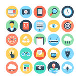 Web and Networking Vector Illustrations 1 Stock Photo