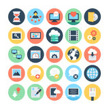 Web and Networking Vector Illustrations 4 Royalty Free Stock Images