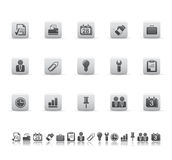 Web and office icons Stock Photos