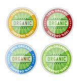 Web organic labels emblems symbols set Royalty Free Stock Photography