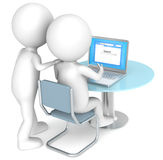 Web Page. Stock Photography
