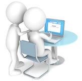 Web page. Fotografia Stock