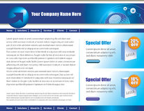 Web page design Royalty Free Stock Photography