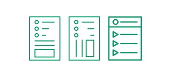 Web page icon set. Edit line logo. Note Vector illustation. vector illustration