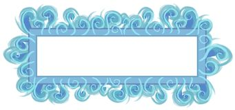 Web Page Logo Aqua Blue Stock Images