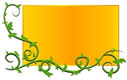 Web Page Logo Vine Gold Stock Images