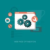 Web page optimization graphics Royalty Free Stock Image
