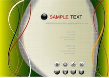 Web page template. Abstract background, web page template, vector Stock Photos
