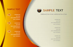 Web page template,. Abstract background, web page template, vector Stock Photography