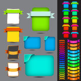Web pages button set. Web pages and download button set. background royalty free illustration