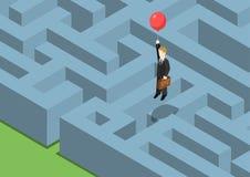Web piano 3d di concetto della gestione dei rischi isometrico royalty illustrazione gratis