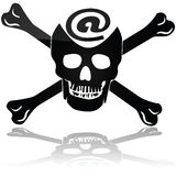 Web piracy Stock Images