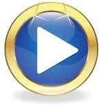 Web PLAY button Stock Photos