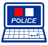 Web police Stock Photo