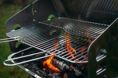 Grill backyard Royalty Free Stock Image