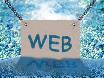 WEB (priorità bassa) Fotografie Stock