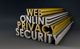 Web Privacy Royalty Free Stock Photos