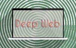 Web profundo Imagenes de archivo
