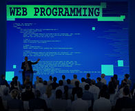 Web Programming Software Developer Technology Concept Royalty Free Stock Photography