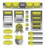 Web que projeta o elemento Fotografia de Stock