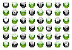 Web réglé du graphisme part1 Image libre de droits