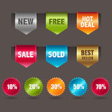 Web Ribbons Royalty Free Stock Photos