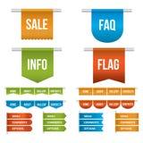 Web Ribbons Royalty Free Stock Image