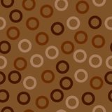 Rings - seamless pattern. royalty free illustration