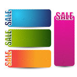 Web sale banner or header for your advertisement Stock Photos