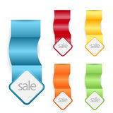 Web sale/discount label,tag or banner Royalty Free Stock Image