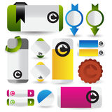 Web sale/discount/offer/deal badge,header,label,tag or banner Stock Images