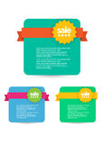 Web sale,discount,offer,deal badge,header,label,tag or banner Royalty Free Stock Images