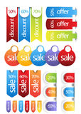 Web sale,discount,offer,deal badge,header,label,tag or banner Royalty Free Stock Image