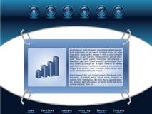 Web-Schablone 4 Lizenzfreie Stockbilder