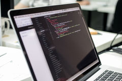 Web script. My programm on php Stock Photos