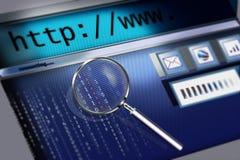 Web search Stock Image