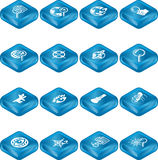 Web Search Icon Series Set Royalty Free Stock Photo