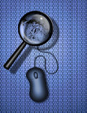Web Search or Identity Stock Photo