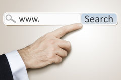 Web search Stock Photo