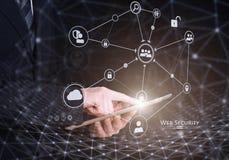 Free Web Security Concept. Mixed Media Stock Photo - 87563970