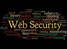 Web Security, word cloud concept 5 Stock Photos