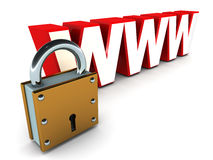Web security Royalty Free Stock Photo