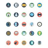 Web and SEO Isolated Vector icons that can be easily modified or edit stock illustration